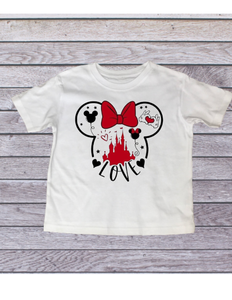 Disney Love T-Shirt - All Sizes - Disney Trip top for family