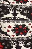 Christmas print ultra soft Leggings - reindeer