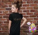 Double Digits girls 10th birthday shirt - personalized