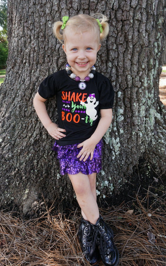 Shake Your Boo-ty Shirt - Halloween shirt - Girls