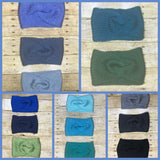 Knitted headbands ear warmers handmade in many colors
