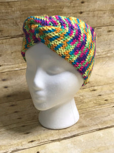 Knitted headbands ear warmers handmade