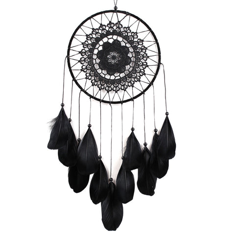 Black Feather Dreamcatcher