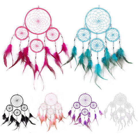 Four Circle Dreamcatcher