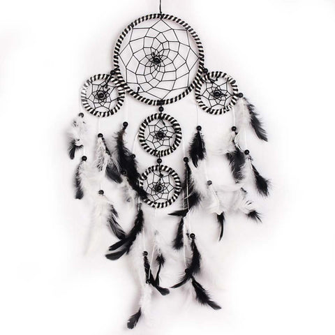 Round Black Dreamcatcher