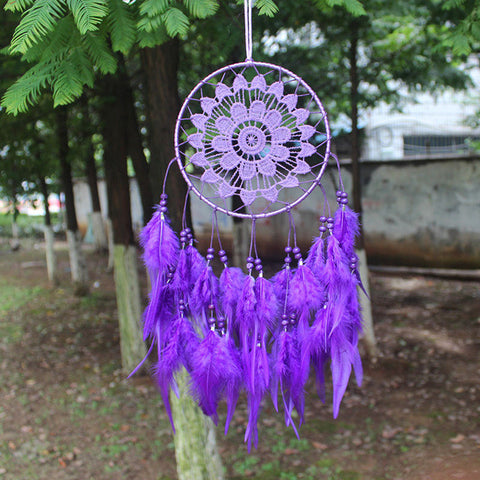 Purple Lace Dreamcatcher