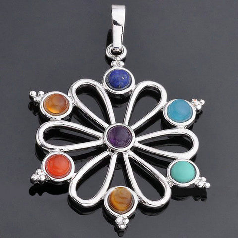 FREE 7 Chakra Round Pendant (Just Cover Shipping)
