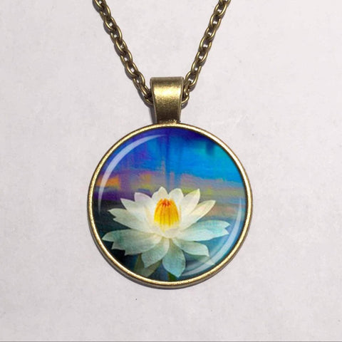 Flower Cabochon Pendant Offer
