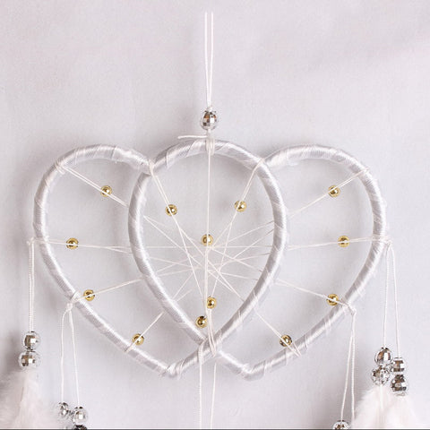Double Heart Dream Catcher