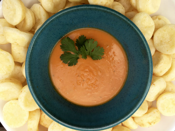 Frozen Carrot Ginger Soup (no sides)