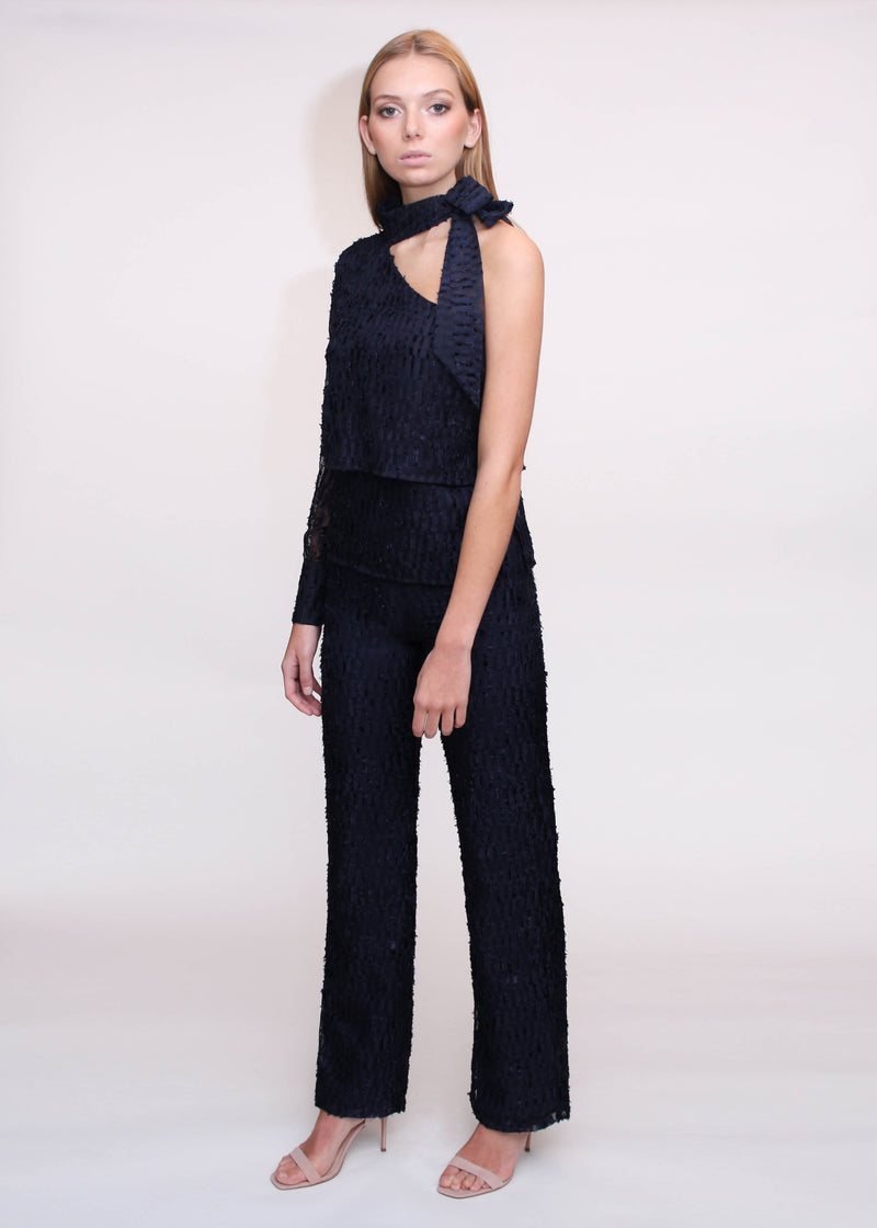 Tiered Jumpsuit