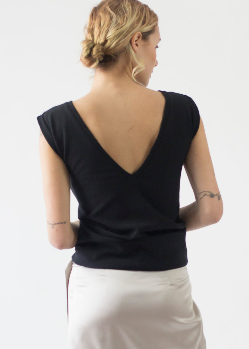 Rolled Shoulder Sweater