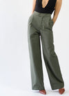 Wide Leg Sailor Trouser