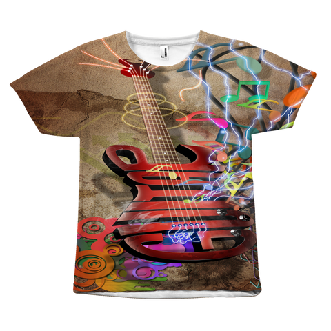 Guitar Sound All Over Tee
