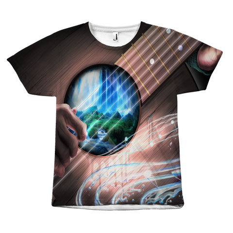 The Wonderful Guitar World All Over Tee