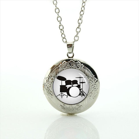 Drums Fan Necklace