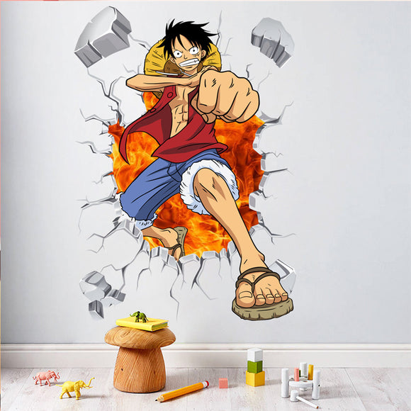 LUFFY WALL STICKER