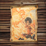 PORTGAS D. ACE WALL POSTER
