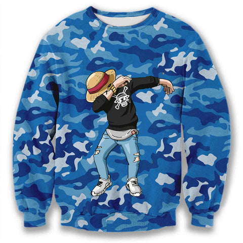 Luffy Dab Dance Sweatshirt