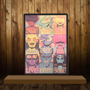 STRAW HAT PIRATES WALL POSTER