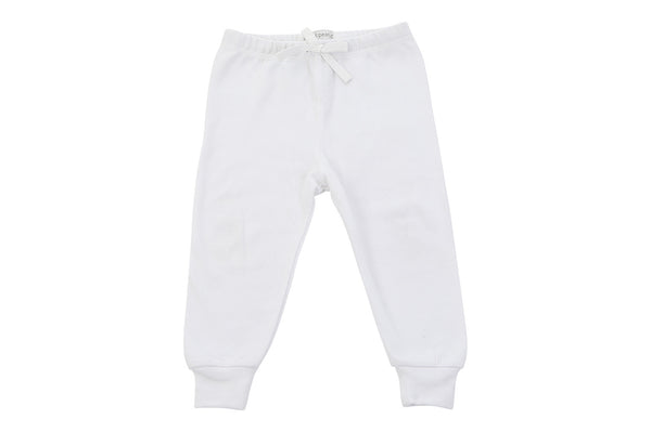 cozy pants in white - Sweet Peanut