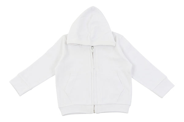 Hoodie in white
