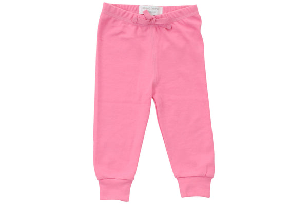 cozy pants in flamingo pink - Sweet Peanut