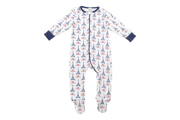 footed pajamas la tour - Sweet Peanut