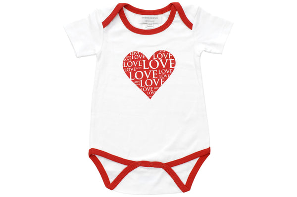 onesie in all my love - Sweet Peanut