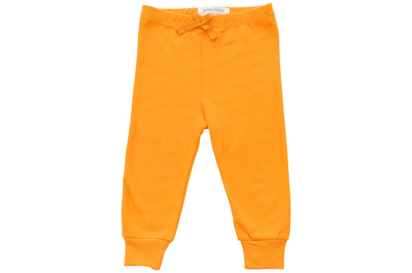 orange cozy pants - Sweet Peanut