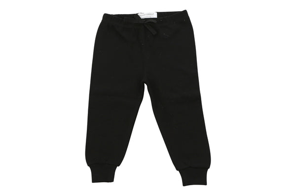cozy pants in black