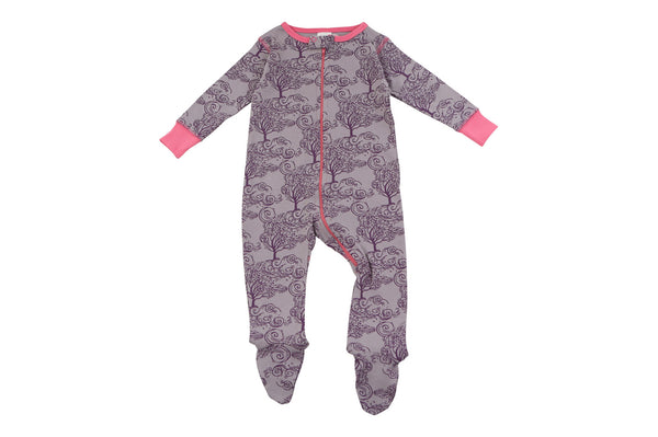 footed pajamas in autumn breeze - Sweet Peanut