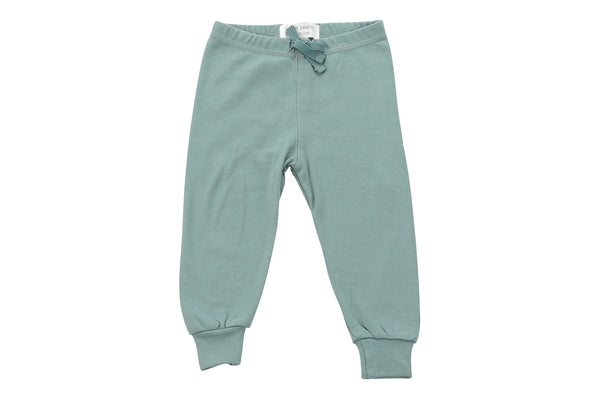 cozy pants in petrol blue - Sweet Peanut