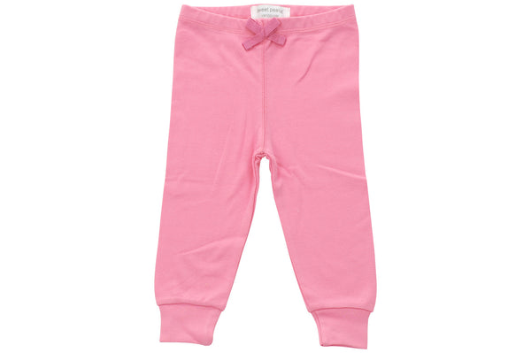 pink cozy pants - Sweet Peanut