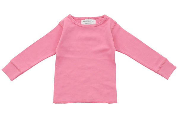 pink long sleeve shirt - Sweet Peanut