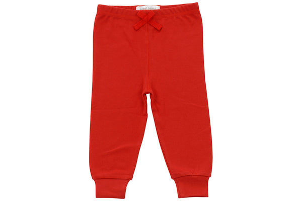 red cozy pants - Sweet Peanut