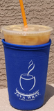 Blue Coffee Koozie