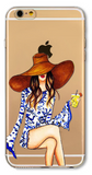 Cocktail Girl iPhone Case