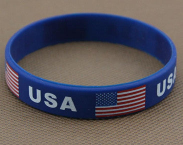 Patriotic Team USA Wrist Band