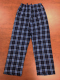 Blue Plaid PJ Pants