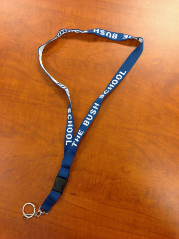 Bush School Lanyard