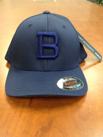 """B"" Fitted Size Baseball Hat"