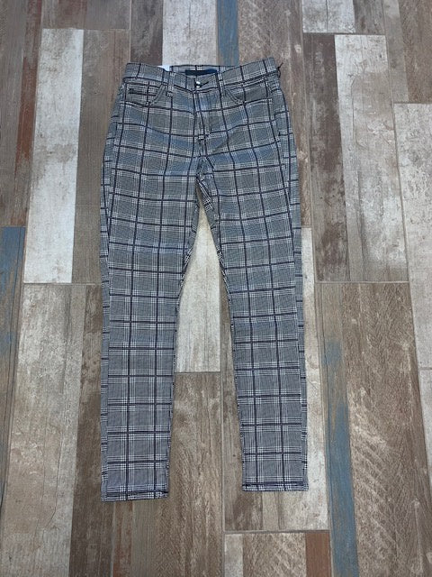 Joes Icon Plaid Mid Rise Jean
