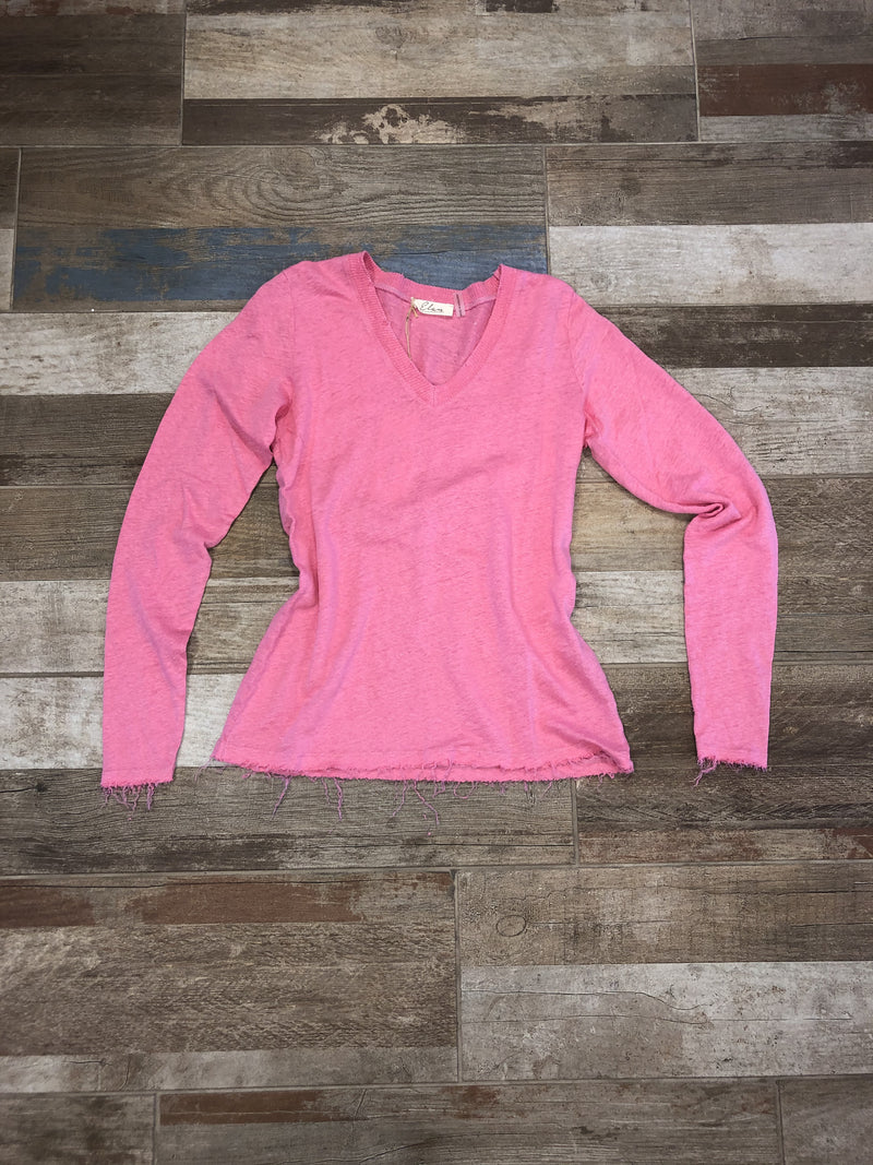 Elan pink long sleeve