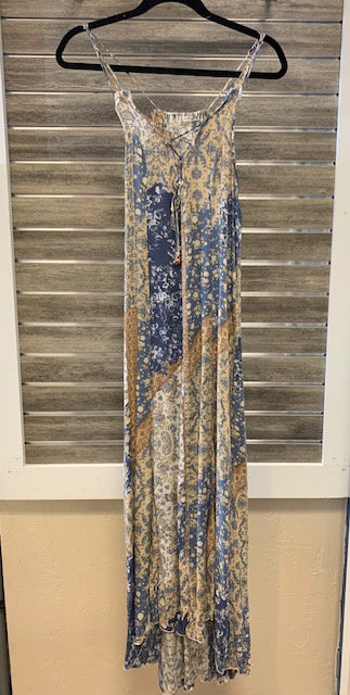 Free People Work of Art Printed Maxi