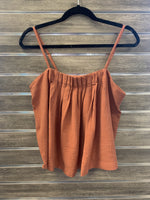 Pleated Front Camisole