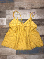 Miss Me Yellow V-Neck Cami
