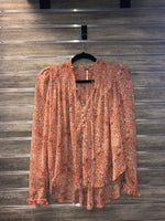 Free People Lela Blouse