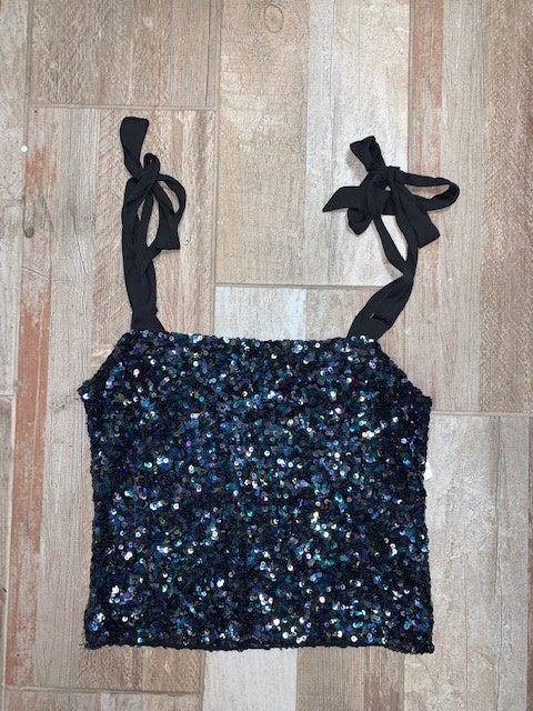 Free People Sparkling Sequin Tank