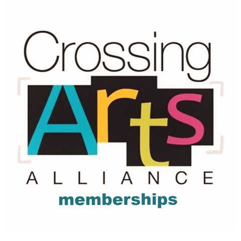 Crossing Arts Membership - levels to suit any budget!